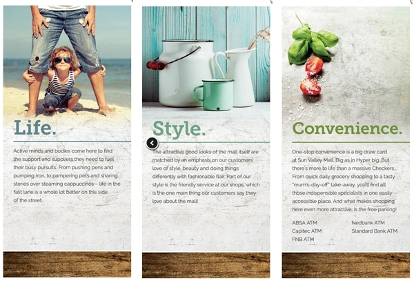 retail copywriter work sample