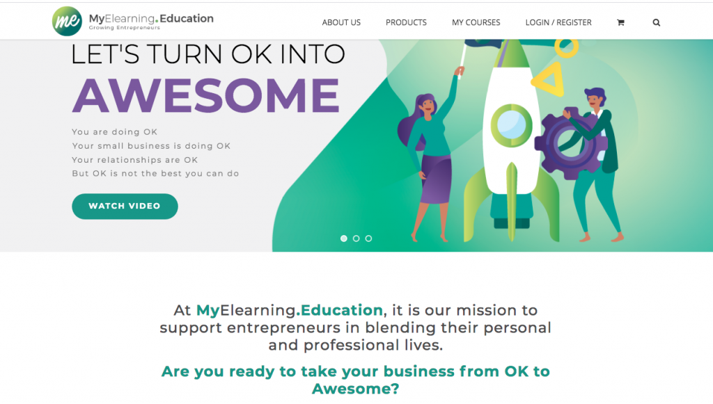 copywriting for online education site
